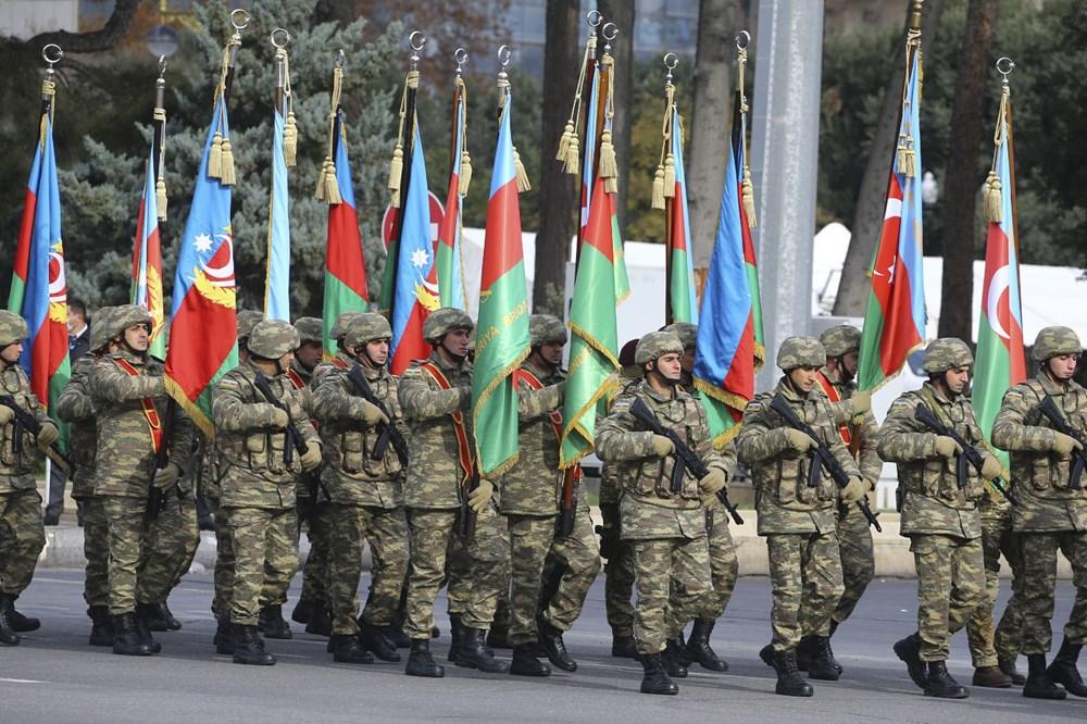 Bakü'de Karabağ zaferi kutlaması - 13