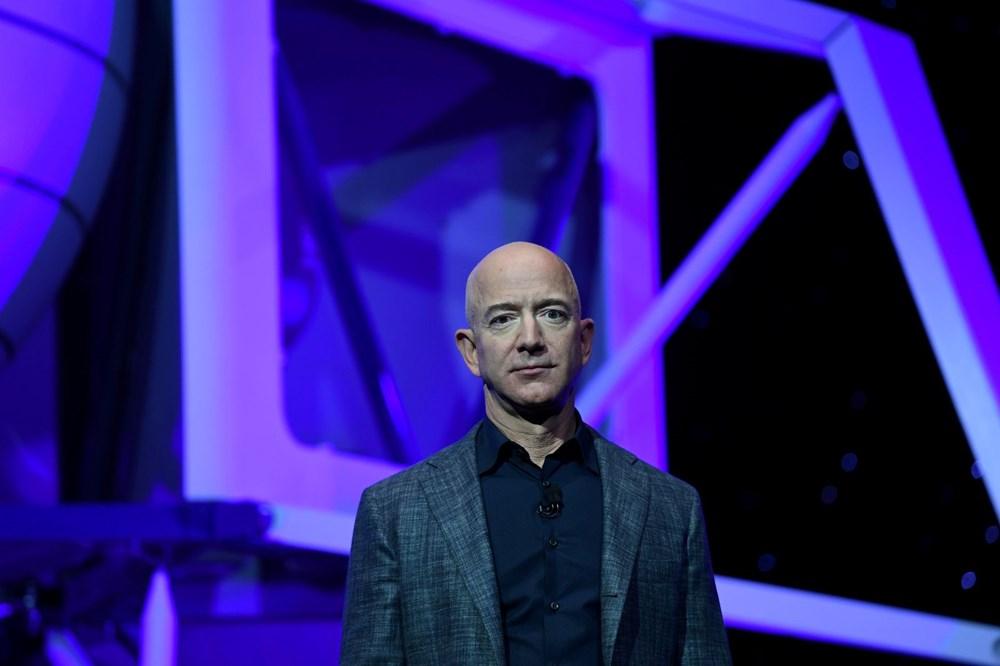 Dünyanın en zengin insanı Jeff Bezos'un uzay yolculuğu gerçekleşti - 10