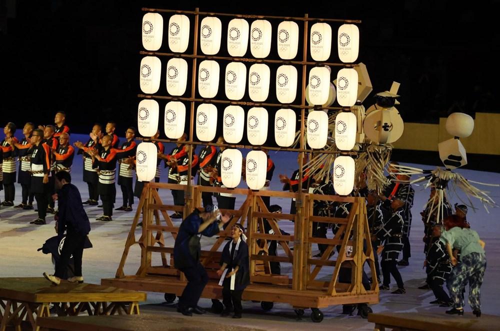 2020 Tokyo Olimpiyatları görkemli açılış töreniyle başladı - 43