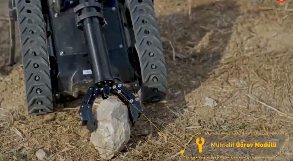 Dijital birliğin robot askeri Barkan göreve hazırlanıyor (Türkiye'nin yeni nesil yerli silahları) - 105