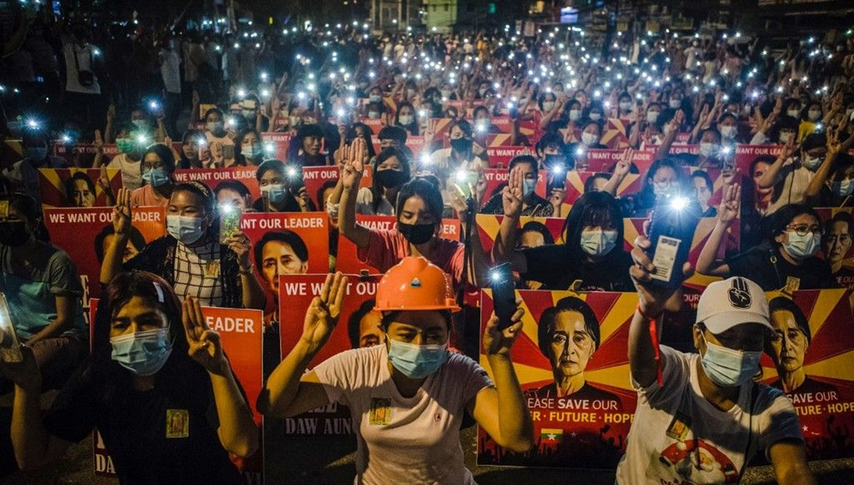 Myanmar protests death toll to 737