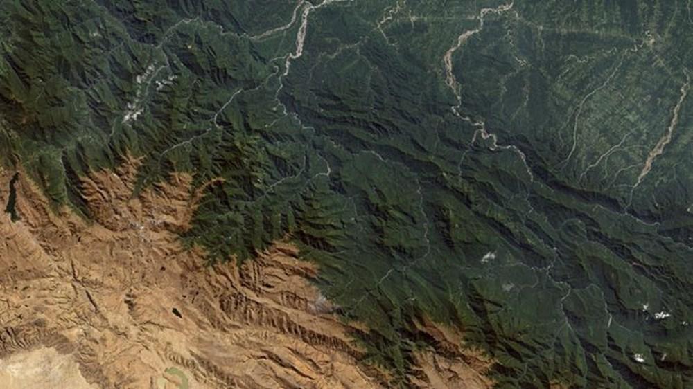 NASA Trump'ın 'büyük felaket' ilan ettiği yangınların uydu görüntülerini yayınladı - 22