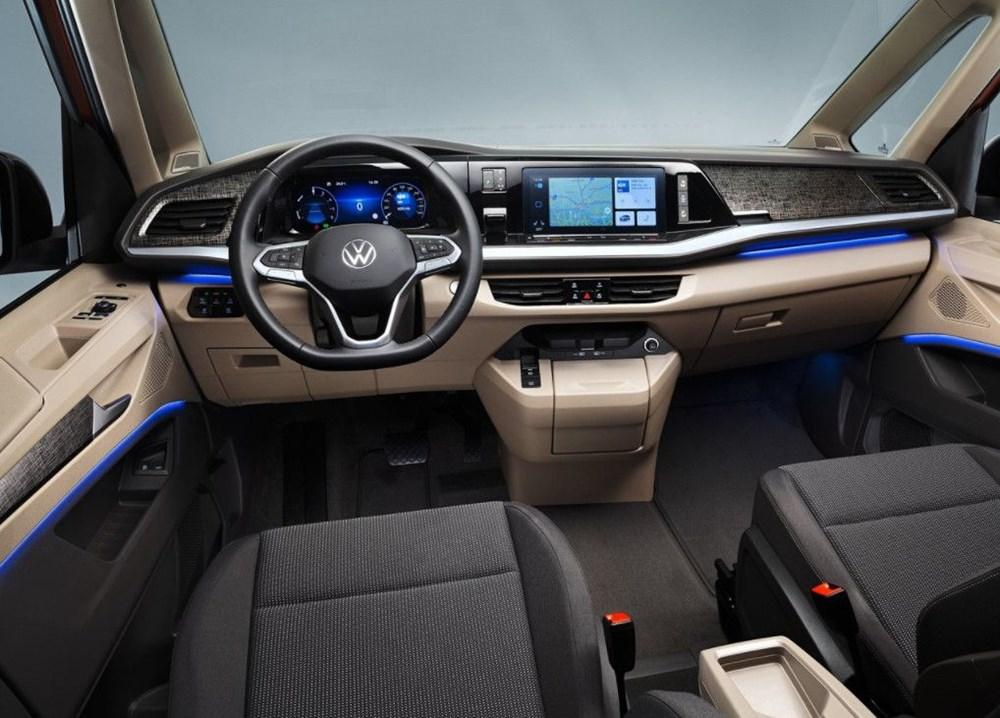 2022 Volkswagen T7 Multivan tanıtıldı - 6