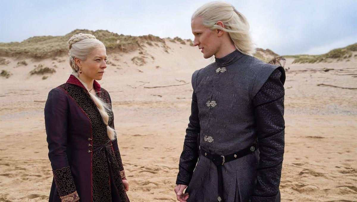 House of the Dragon dizisinden ilk görseller