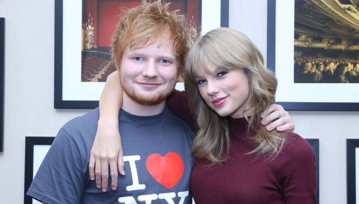 Ed Sheeran: Taylor Swift'i bir mekana götürdüm, kimse tanımadı