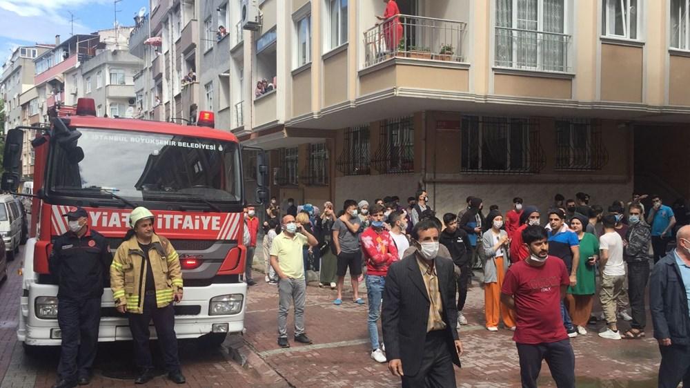 Zeytinburnu'nda boşaltılan 5 katlı bina çöktü - 3