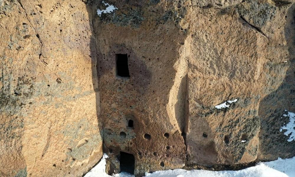 Bitlis'te binlerce yıllık 400 mağara evin bulunduğu 'Madavans Vadisi' turizme kazandırılıyor - 6