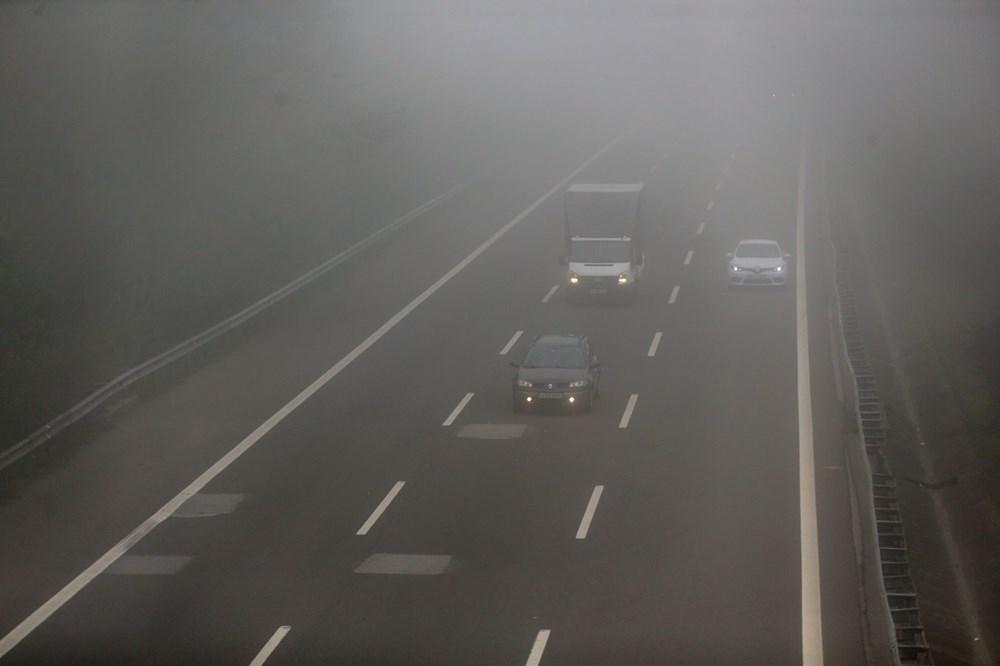 Bolu Dağı'nda yoğun sis etkili oluyor - 3