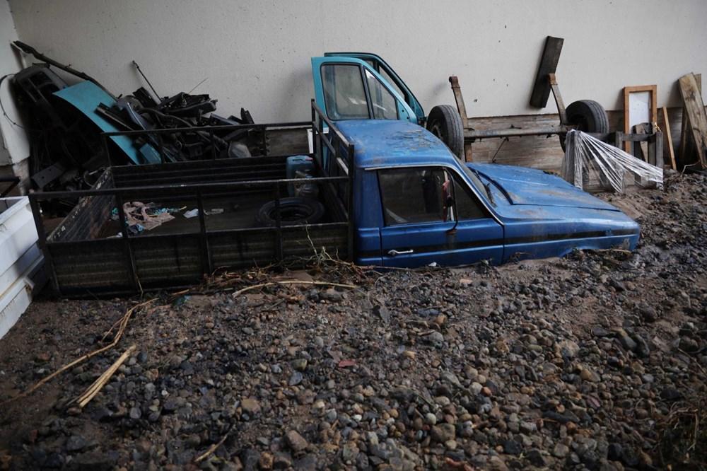 Rize'de sel ve heyelan afetinin hasarı gün ağarınca ortaya çıktı - 17