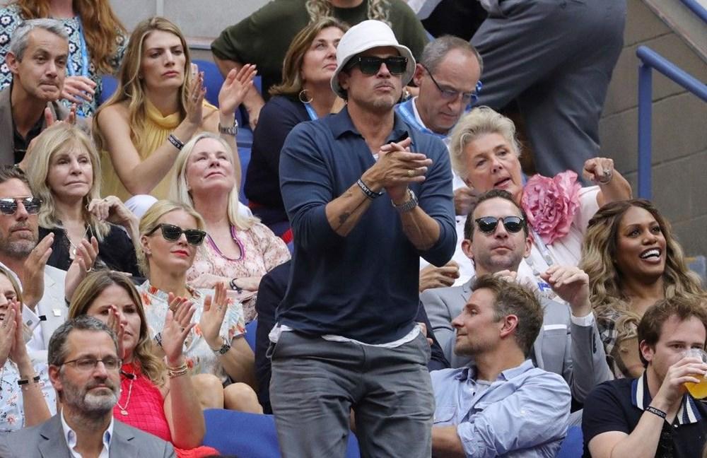 Brad Pitt ve Bradley Cooper tenis maçında - 4