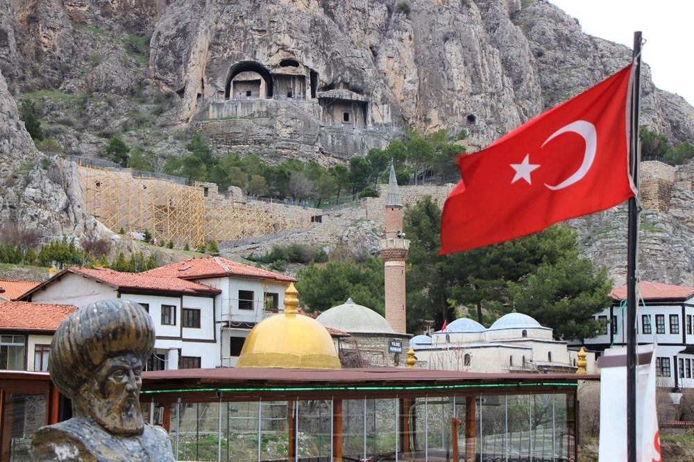 Amasya'da 2 bin 400 yıllık surlar restore ediliyor - 5