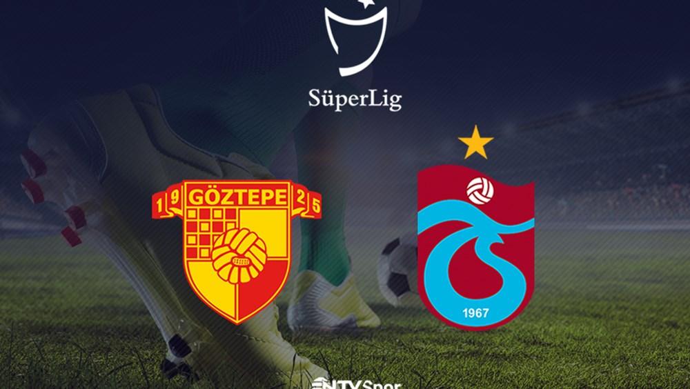 Göztepe-Trabzonspor (Canlı Anlatım)