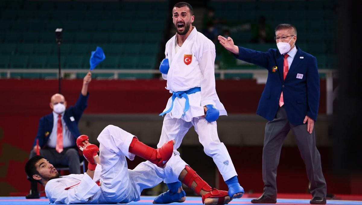 SON DAKİKA: Uğur Aktaş, Tokyo Olimpiyatları'nda madalyayı garantiledi (Türkiye olimpiyat rekorunu kırdı)