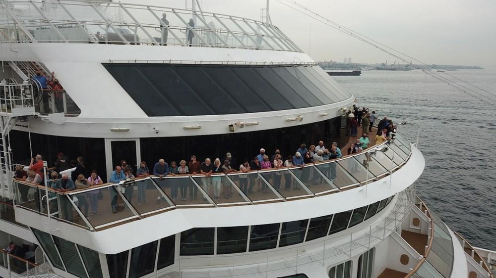 Galataport İstanbul'a ikinci yolcu gemisi demir attı - 13