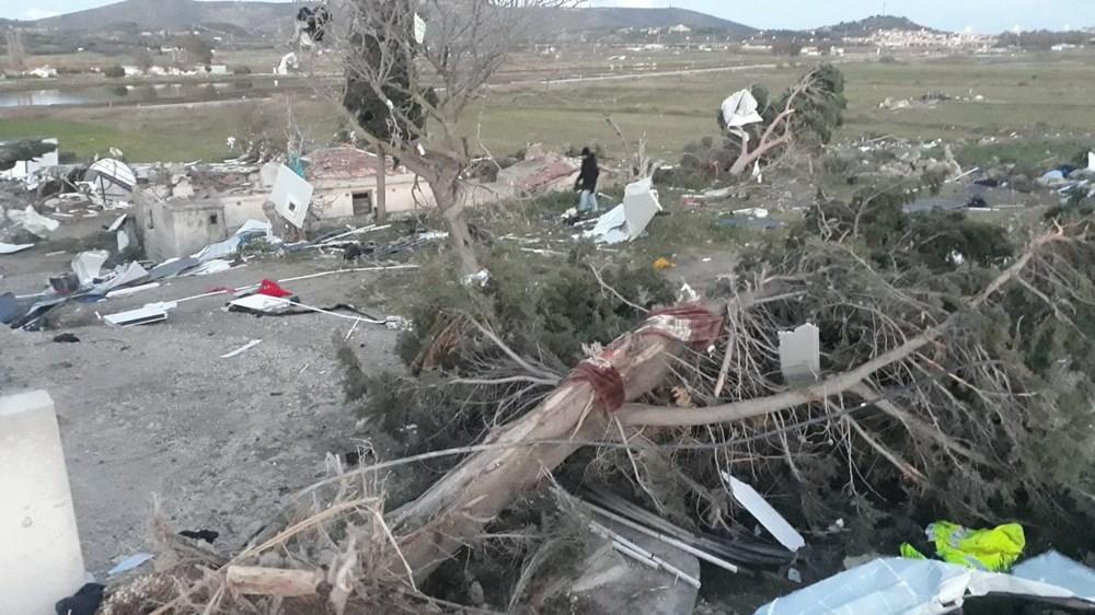 İzmir'de hortum felaketinin boyutları gün ağarınca ortaya çıktı - 15