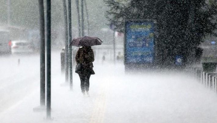 Meteoroloji'den 10 il için sağanak uyarısı