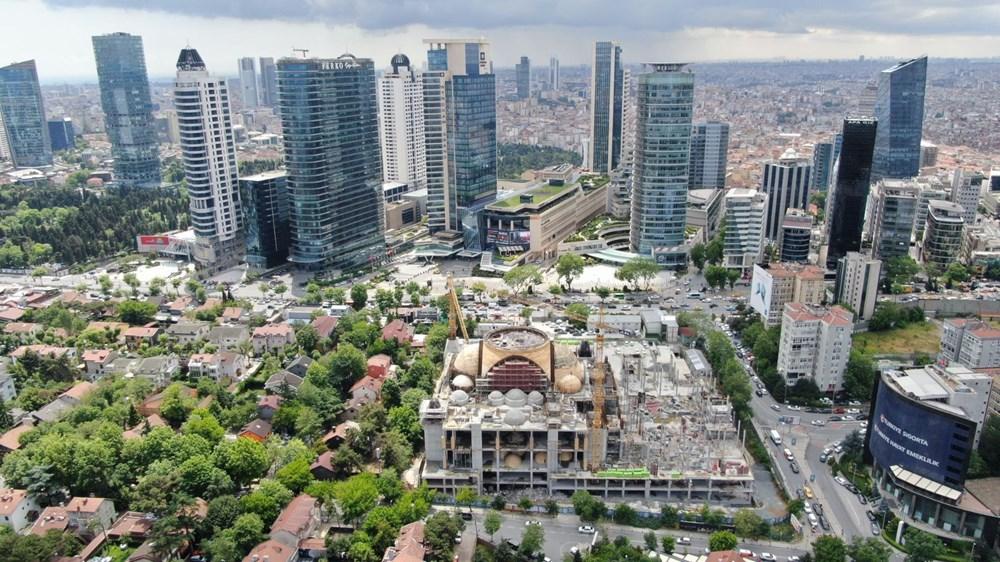 Levent'teki Barbaros Hayrettin Paşa Cami'nin yüzde 75'i tamamlandı - 8