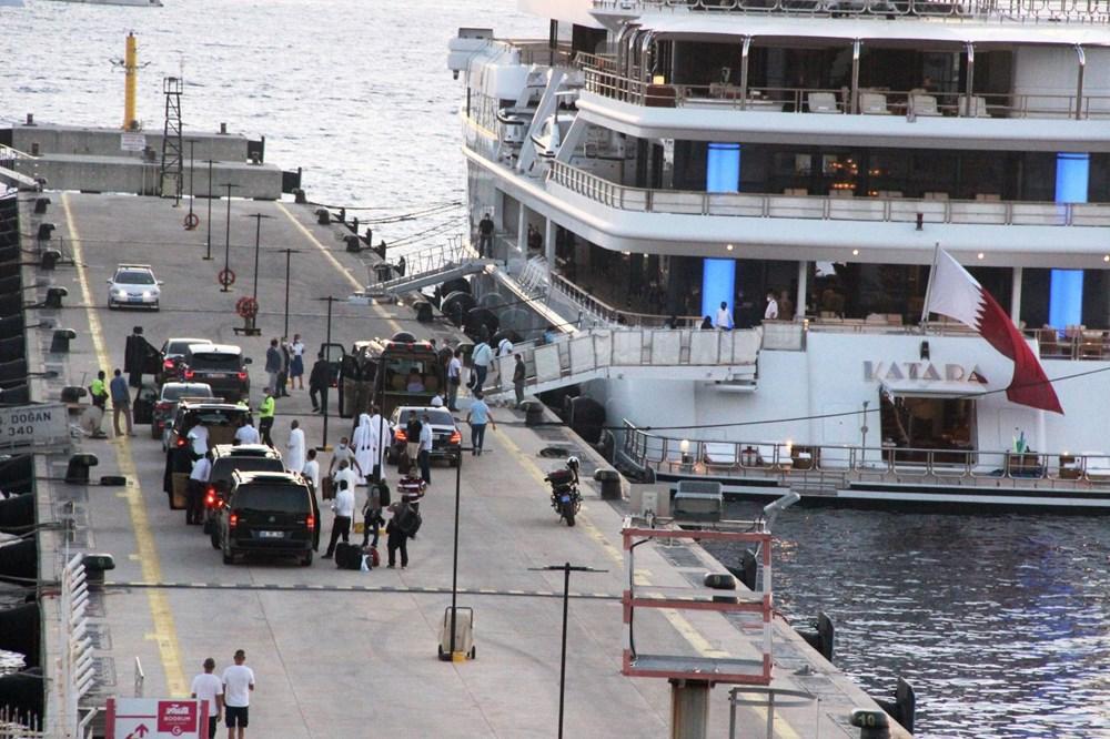 Katar kraliyet ailesi Bodrum'da: 2 kamyon eşya, 500 valiz - 13
