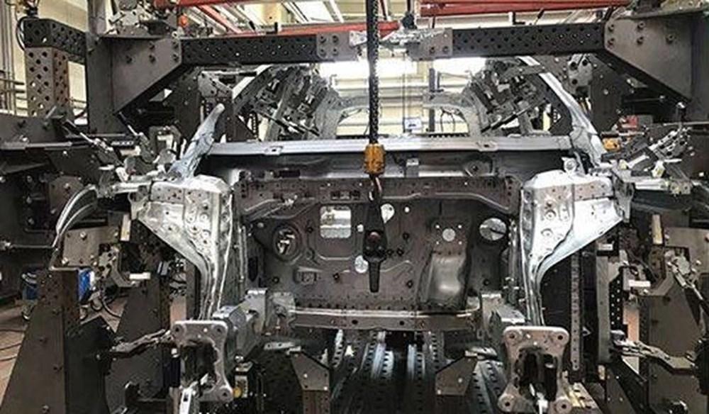 Yerli otomobilin montajından ilk görüntü - 4