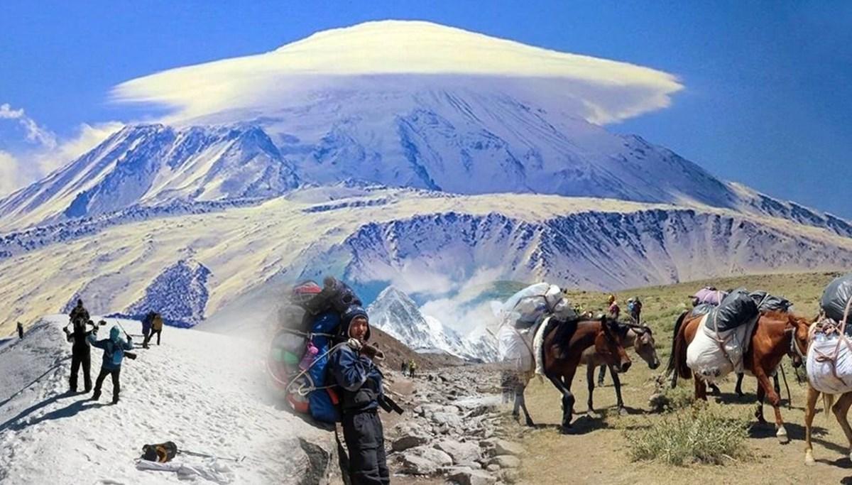 Ağrı Dağı'nda dağcıların en büyük yardımcısı: Türkiye'nin yerli 'şerpa'ları