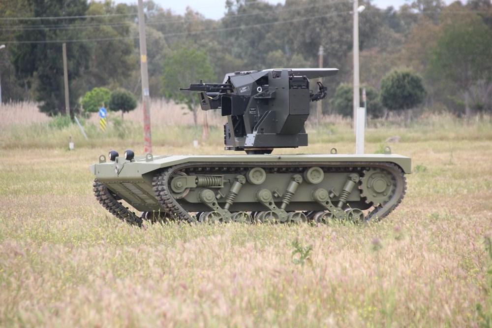 Dijital birliğin robot askeri Barkan göreve hazırlanıyor (Türkiye'nin yeni nesil yerli silahları) - 78