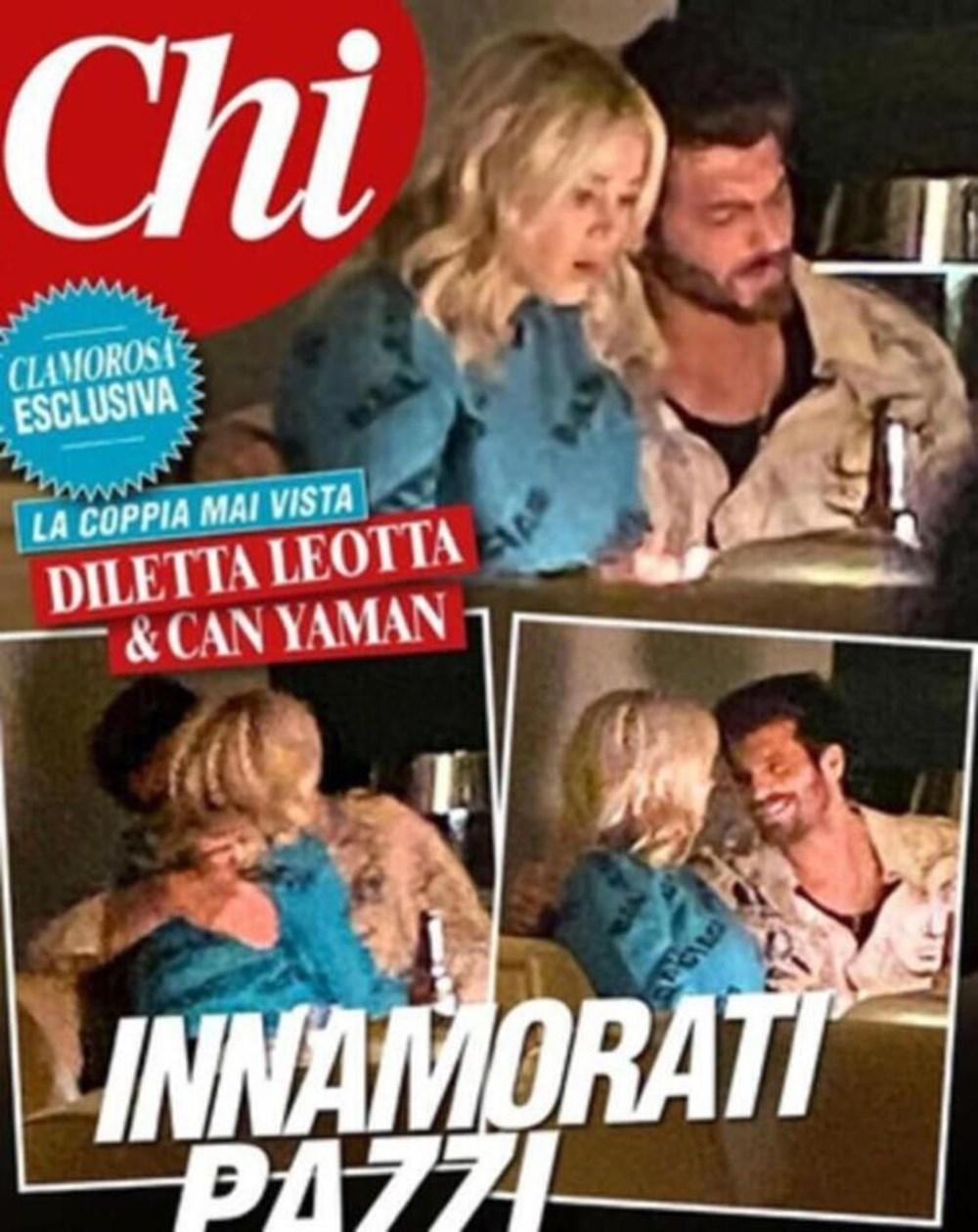 Can Yaman İtalyan spor spikeri Diletta Leotta ile ilişkisini fotoğrafla doğruladı - 3