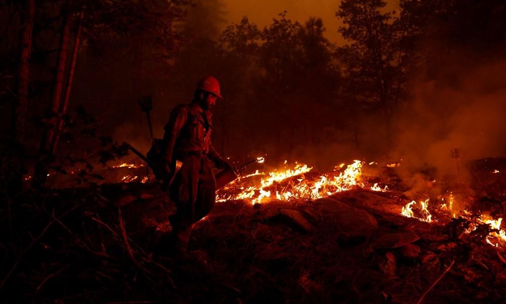 ABD'nin Kaliforniya eyaletinde orman yangınlarıyla mücadele büyüyor: 50 binden fazla evin elektriği kesildi - 4