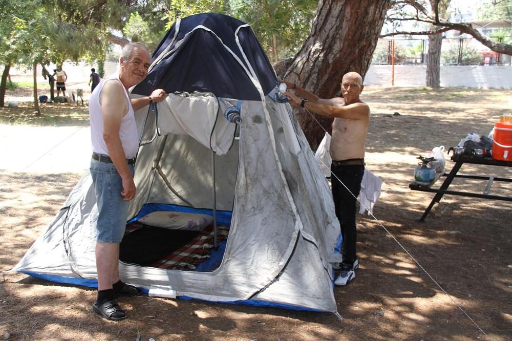 Sahiller çadır kente döndü: Günlüğü 45 liraya tatil - 4