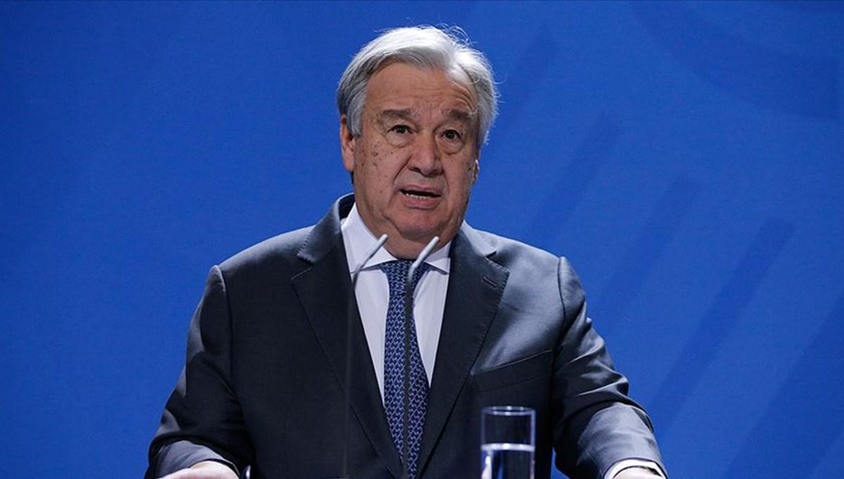 SON DAKİKA:BM Genel Sekreteri'nden Türkiye'ye teşekkür