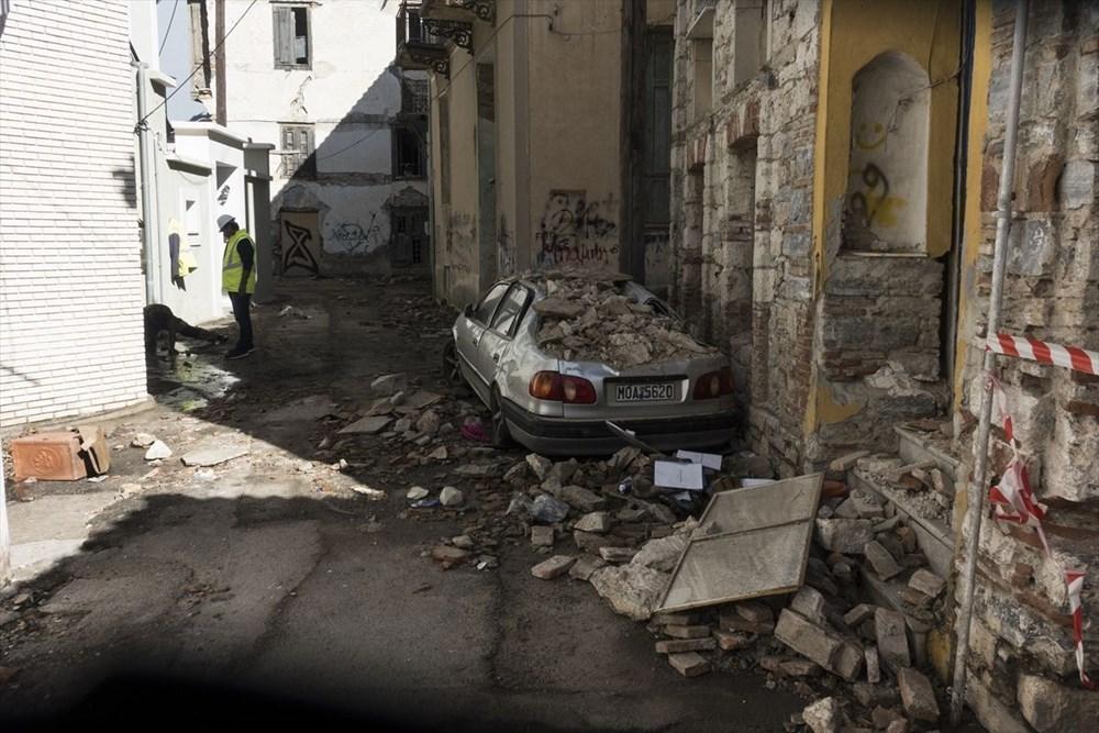 Depremin vurduğu Yunan adası Sisam'da son durum - 27