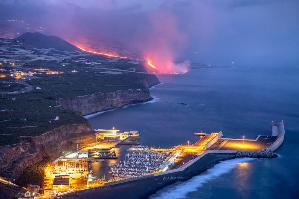 La Palma'da yanardağ nedeniyle evlerini kaybeden halk psikolojik yıkım yaşıyor - 8