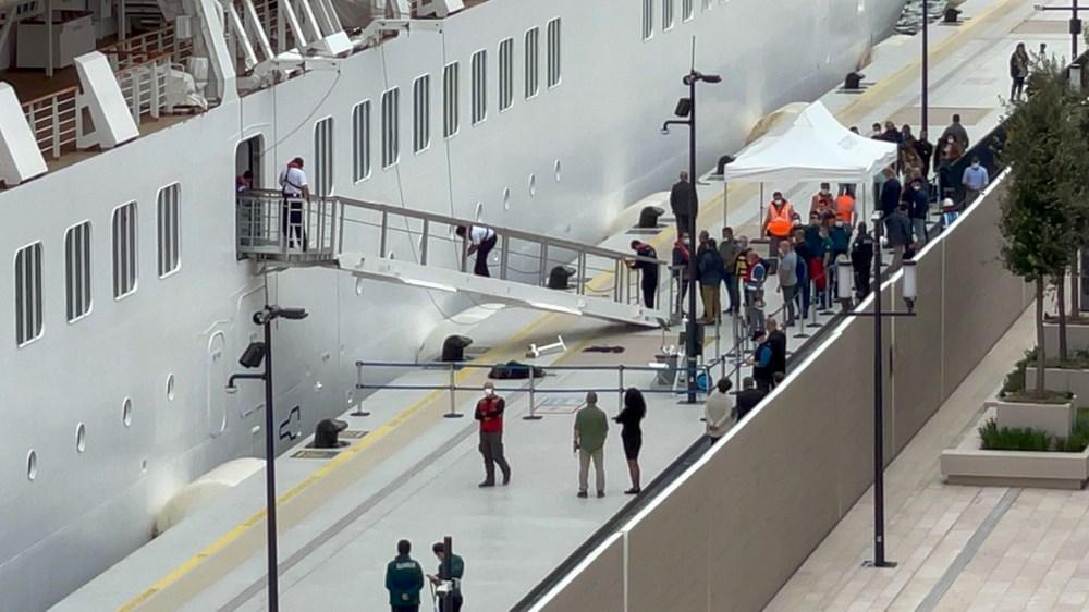 Galataport İstanbul'a ikinci yolcu gemisi demir attı - 10