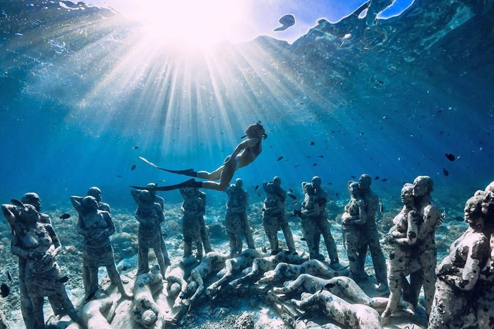 Sanatın en derin hali: Dünyanın en güzel su altı müzeleri - 1