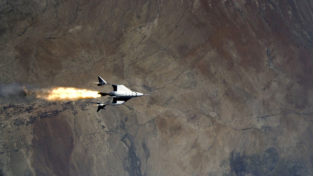 Virgin Galactic ikinci uçuş testini başarıyla tamamladı - 4