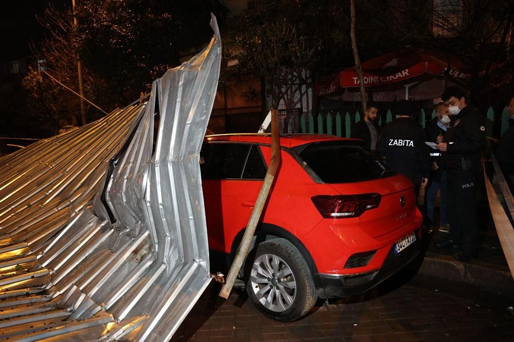 İstanbul'da fırtına etkili oluyor - 4