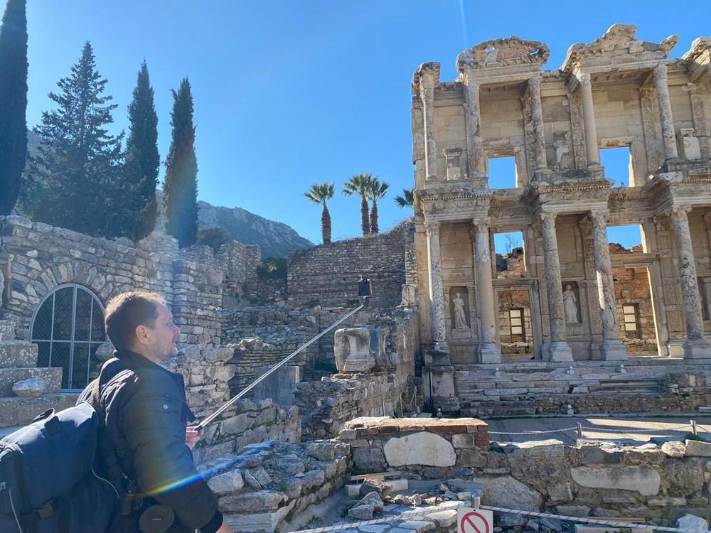Efes Antik Kenti, pandemi döneminde de güvenli turizmin adresi oldu - 19