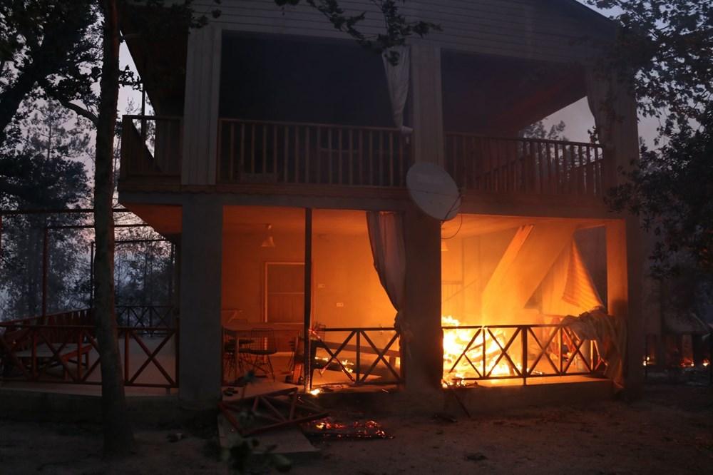 Adana'da orman yangını: 8 köy boşaltıldı - 20