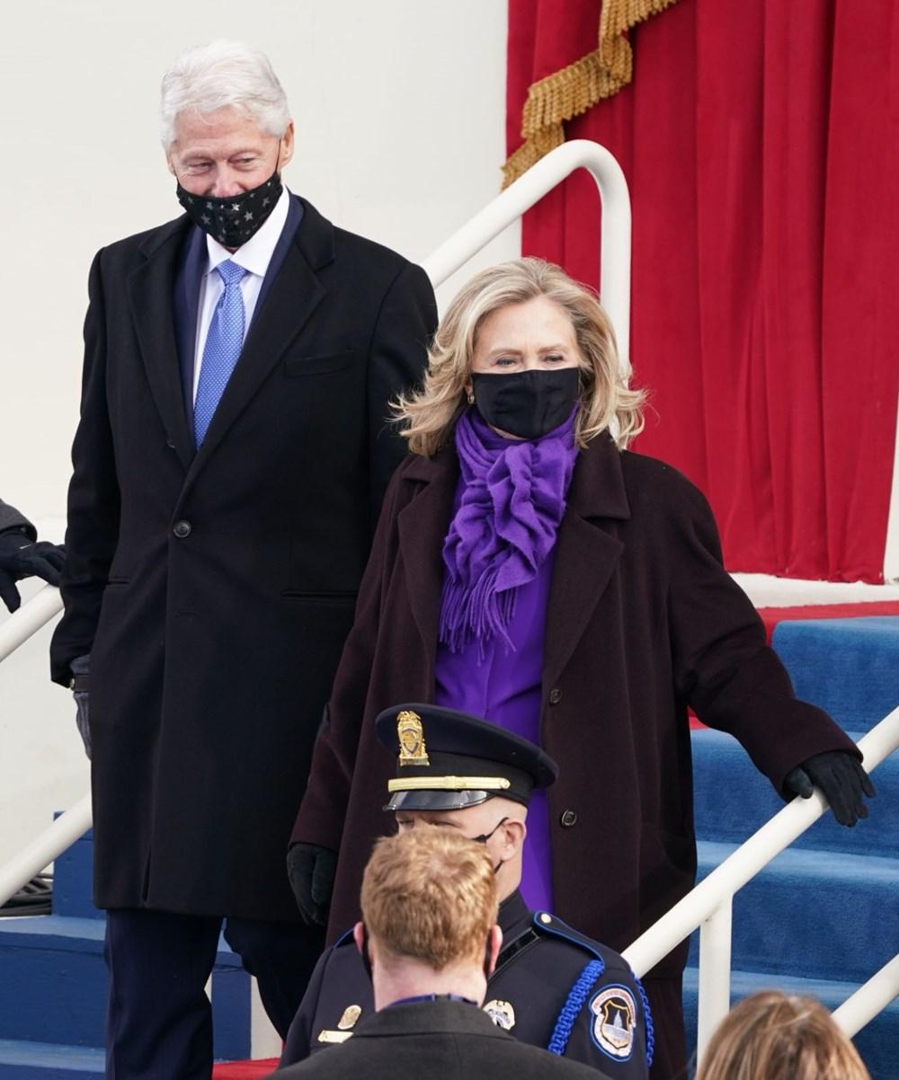 Joe Biden'ın yemin töreninden kareler (ABD'nin 46. Başkan Joe Biden göreve başladı) - 24