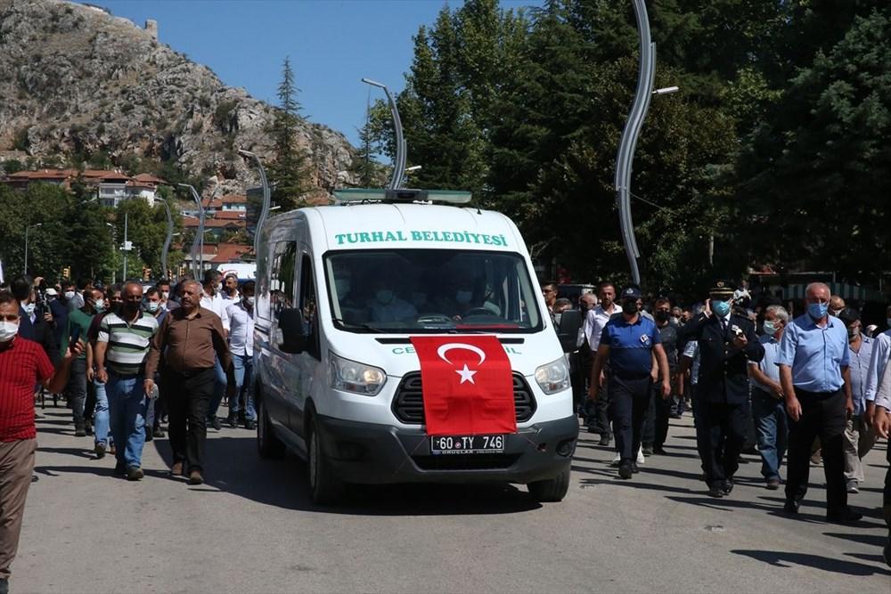 Martir Muammer Yiğit mengucapkan selamat tinggal pada perjalanan terakhirnya di Tokat - 13