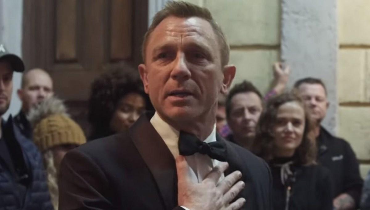 Daniel Craig, James Bond'a ağlayarak veda etti