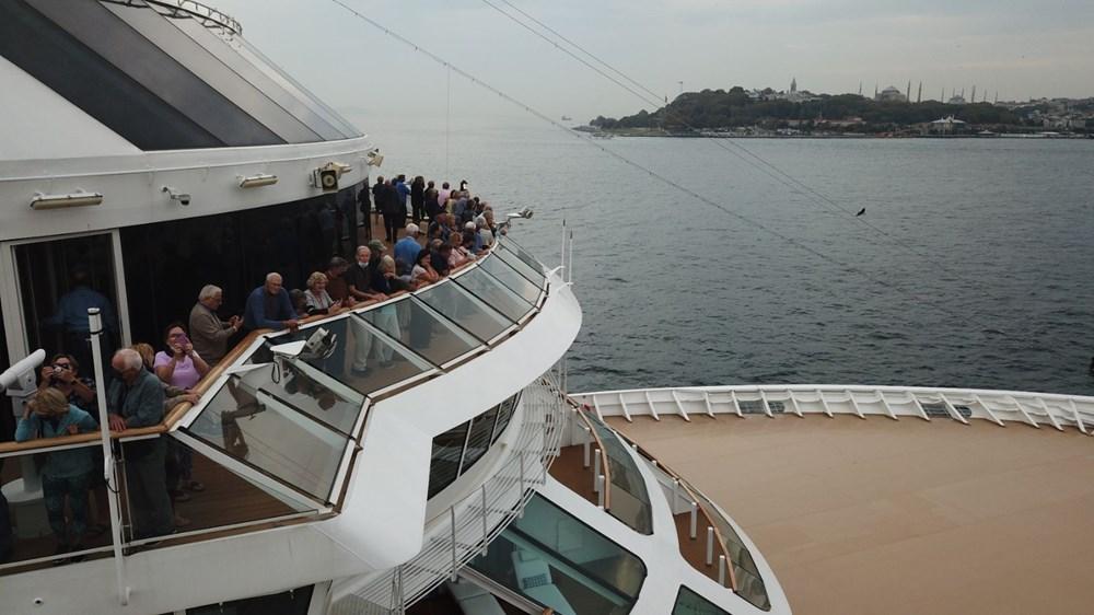 Galataport İstanbul'a ikinci yolcu gemisi demir attı - 12