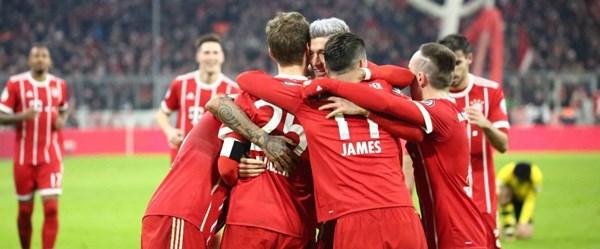 Nefes kesen maç Bayern Münih'in