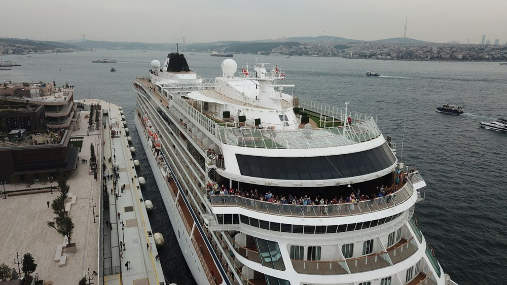Galataport İstanbul'a ikinci yolcu gemisi demir attı - 16