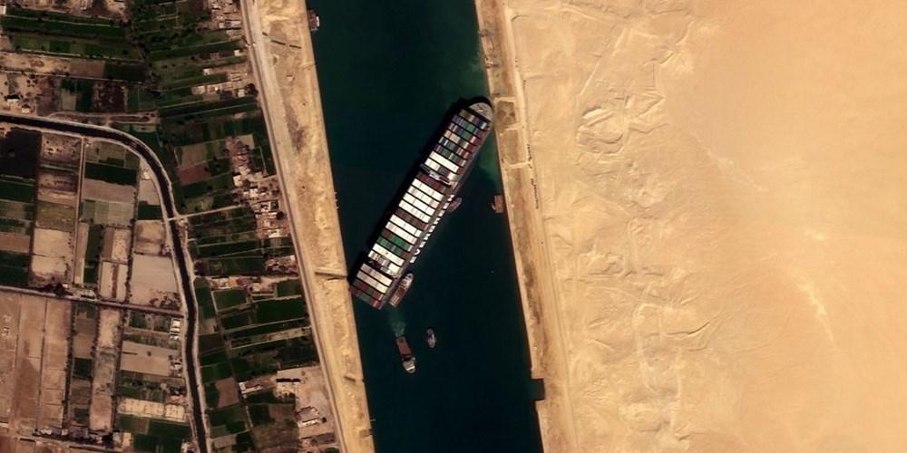 Süveyş Kanalı 6. günde kısmen açıldı: Ever Given gemisi yüzdürüldü - 2