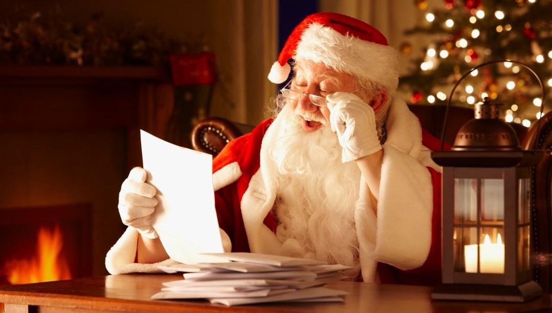 Noel Baba'ya yıllar önce yazılan mektup şömine bacasından çıktı