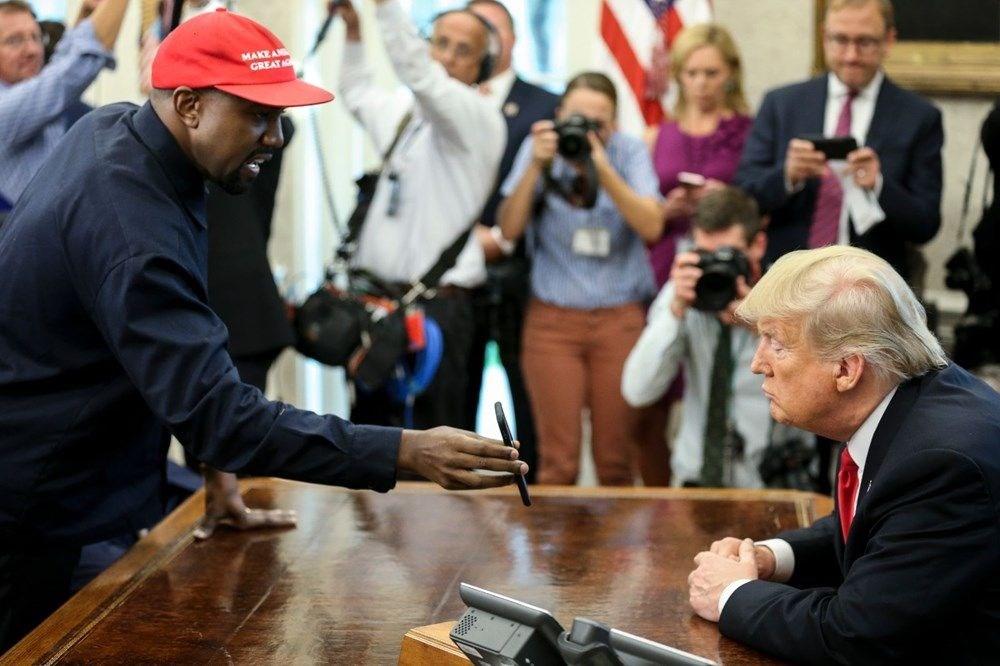 Kim Kardashian'ın eşi rap şarkıcısı Kanye West ABD Başkanlığı'na aday oldu - 9
