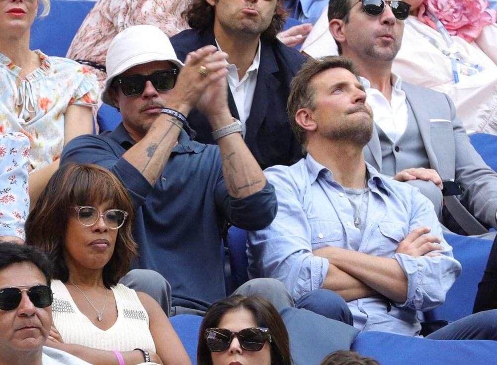 Brad Pitt ve Bradley Cooper tenis maçında - 3