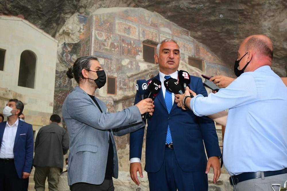 Sümela Manastırı 5 yıl sonra ziyarete açıldı - 6