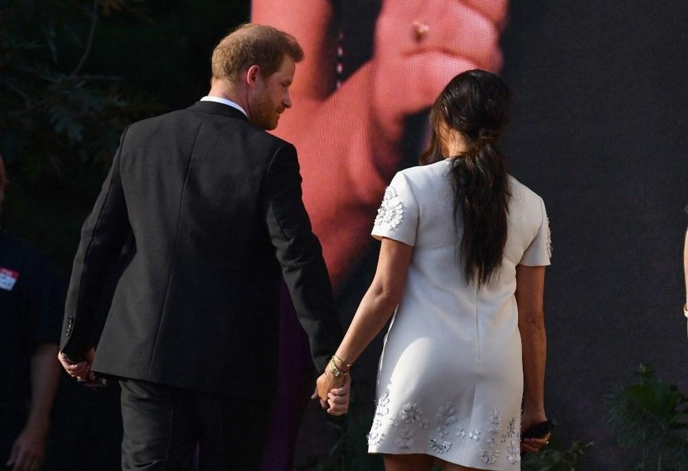 Meghan Markle ve Prens Harry Global Citizen etkinliğinde alay konusu oldu - 7