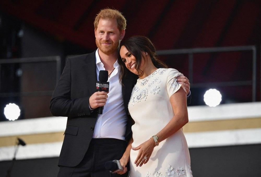 Meghan Markle ve Prens Harry Global Citizen etkinliğinde alay konusu oldu - 2